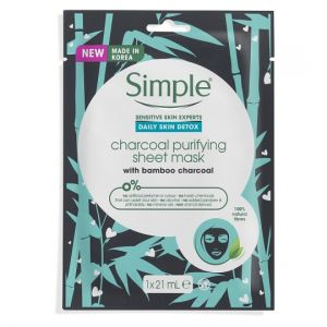 Simple Daily Detox Purifying Charcoal Mask 21ml