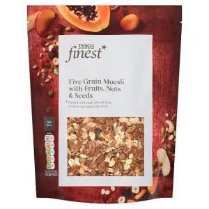 Tesco Finest Fruit Nut & Seed Muesli 500g