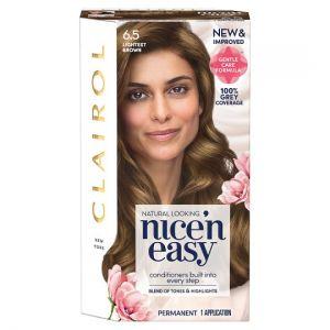 Clairol Nice 'N' Easy Lightest Brown 6.5 Hair Dye