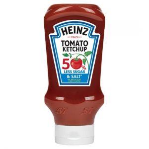 Heinz Tomato Ketchup 50% Less Salt & Sugar 625g