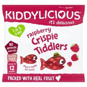 Kiddylicious Raspberry Crispie Tiddlers 12g