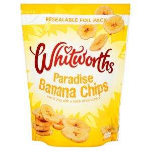 Whitworths Banana Chips 175g