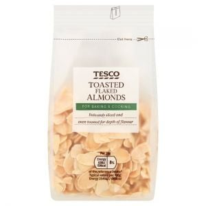 Tesco Toasted Flaked Almonds 100g
