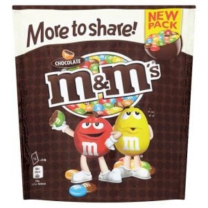 M&Ms Chocolate More To Share Pouch 238g