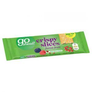 Go Ahead Crispy Forest Fruit Slices 6X43.6g