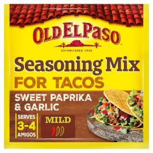 Old El Paso Garlic and Paprika Taco Seasoning Mix 25g