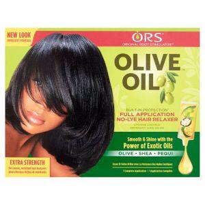 Olive Oil Relaxer Kit Extra Strength