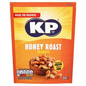 Kp Honey Roast Peanuts 225g