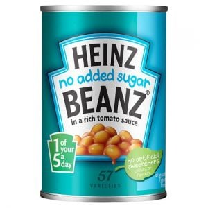 Heinz Baked Beans No Added Sugar In Tomato Sauce 300g