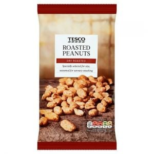 Tesco Dry Roasted Peanuts 550g