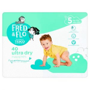 Fred and Flo Ultradry Size 5 x 40