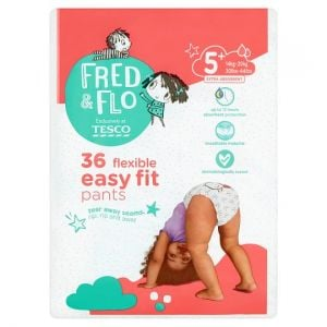 Fred and Flo Easy Fit Pants Size 5+ 38 Pack