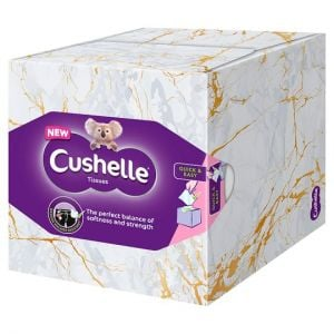 Cushelle Cube Facial Tissue 60 Sheets