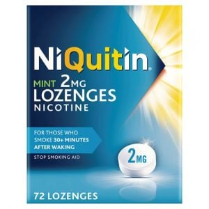 Niquitin Mint Lozenges 2Mg 72S