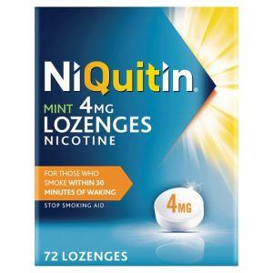 Niquitin Mint Lozenges 4Mg 72S