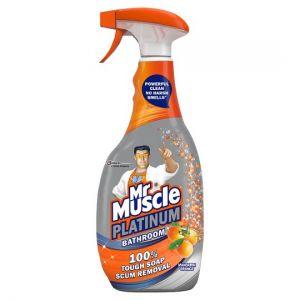 Mr Muscle Platinum Bathroom Mandarin Orange 750ml