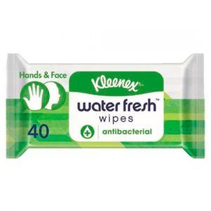 Kleenex 40 Water Fresh Antibacterial Wet Wipes