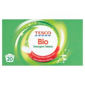 Tesco Biological Laundry Detergent Tablets 20 Washes