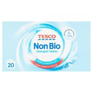 Tesco Non Biological Laundry Detergent Tablets 20 Washes 1.16kg