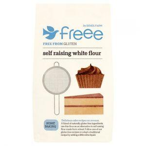 Doves Farm Gluten & Wheat Free White Self Raising Flour Blend 1kg