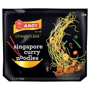 Amoy Singapore Curry Noodles 2X150g