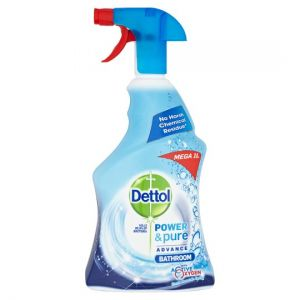 Dettol Power and Pure Bathroom Spray 1L