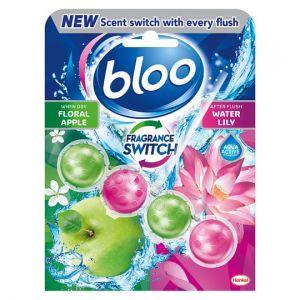 Bloo Fragrance Switch Lily & Apple Rim Block 50g