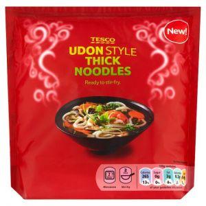 Tesco Straight To Wok Udon Noodles 300g