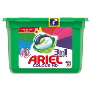 Ariel 3In1 Pods Colour & Style 15 Washes