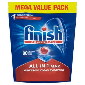 Finish All In One Max Original 80 Dishwasher Tablets