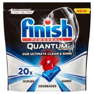 Finish Quantum Ultimate Original 20 Dishwasher Tablets