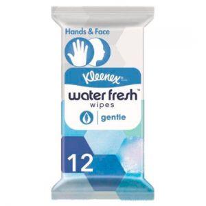 Kleenex Water Fresh Gentle Wet Wipes 12 Pack