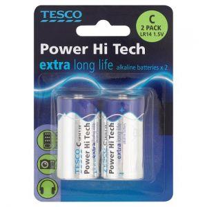 Tesco Long Life C 2 Pack