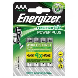 Energizer Power Plus AAA 4 Pack 700 Mah