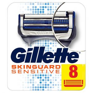 Gillette Skinguard Sensitive Blades Refill 8 Pack