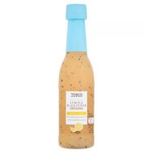 Tesco Fat Free Lemon and Pepper Dressing 250ml