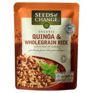Seeds of Change Quinoa and Wholegrain Rice 240g