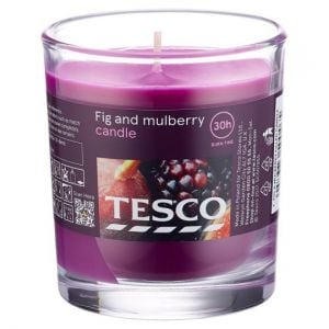 Tesco Fig & Mulberry Filled Candle