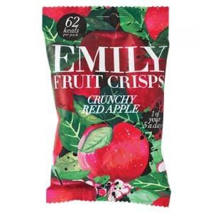 Emily Fruit Crisps Crunchy Red Apple 15g