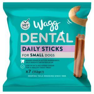 Wagg Daily Dental Sticks Small 7 X 16g