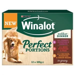 Winalot Sunday Dinner Dog Food 1.2kg 12X100g