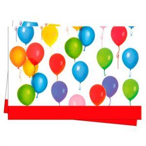 Tesco Balloons Table Cover 120Cm X 180Cm