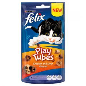 Felix Play Tubes Cat Treats Chicken & Liver 50g