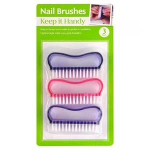 Keep It Handy Nail Brushes 3 Pack