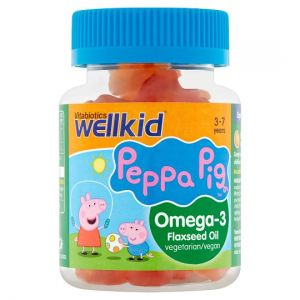 Wellkid Peppa Pig Omega-3 Soft Jellies X30