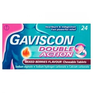 Gaviscon Double Action Mixed Berry 24S