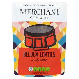 Merchant Gourmet Beluga Lentils 250g