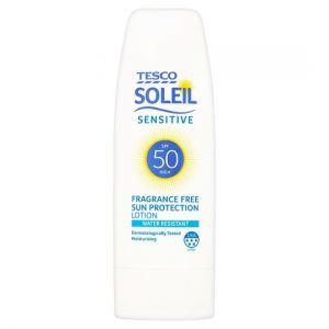 Tesco Soleil Sensitive Sun Protect Lotion Spf 50 200ml
