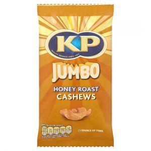 Jumbo Honey Roast Cashews Snacks 140g