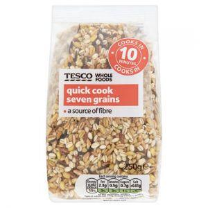 Tesco Wholefoods Quick Cook Seven Grains 250g
